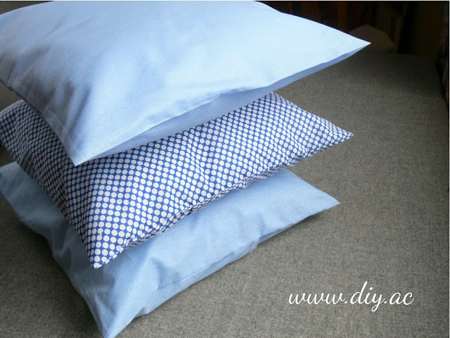 Easy envelope pillow cover tutorial | diy.ac