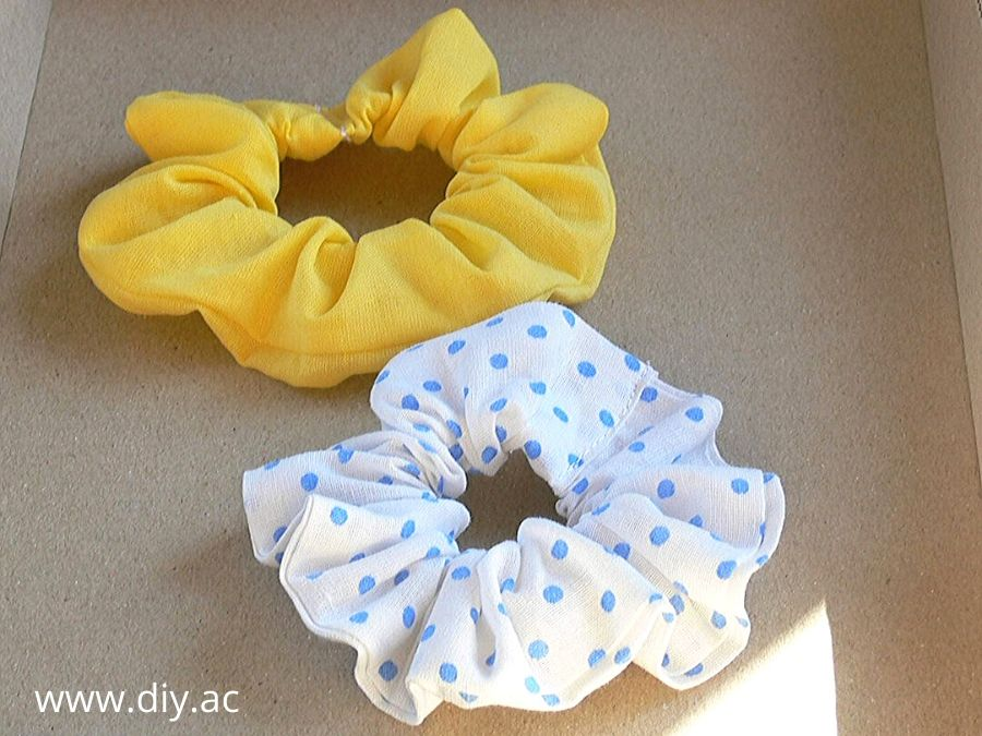 How to make scrunchies step by step | diy.ac