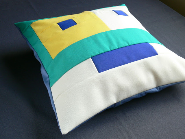 Patchwork pillow pattern free – robot DIY | diy.ac
