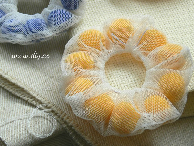HOW TO SEW TULLE SCRUNCHIES STEP BY STEP | diy.ac